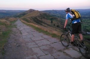 Cycling in Edale - Mam Tor