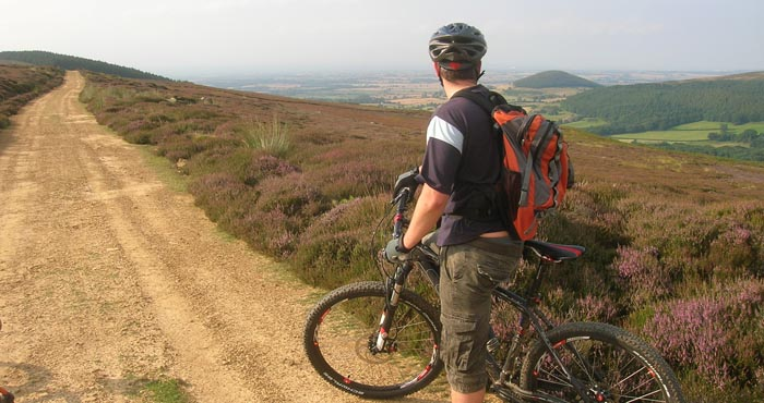 Guided Mountain Biking North York Moors Yorkshire Dales