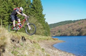 mountain biking Peak District