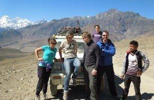 Mountain bike tour nepal