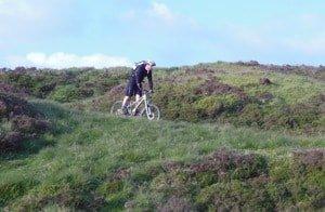 Cycling around Lady Bower