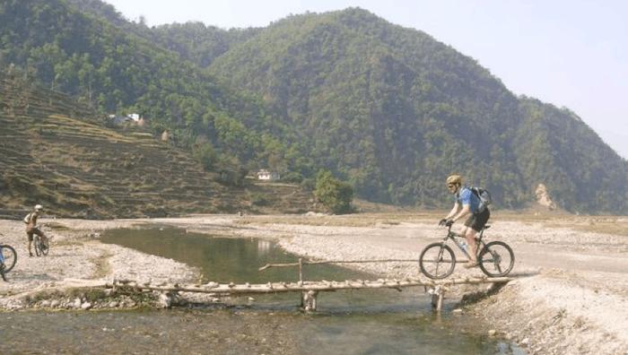 Mountain biking in Pokhara