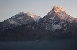 Views from Gorepani Poon Hill Trek