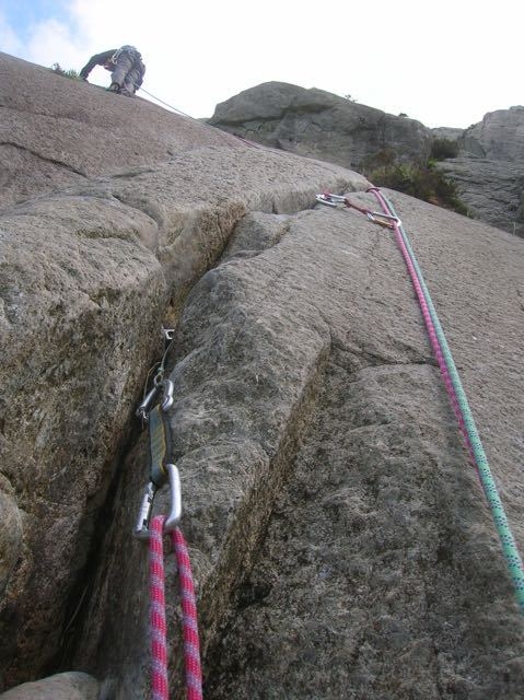 Multi-Pitch-Climber--Rope-Anchor-North-Wales