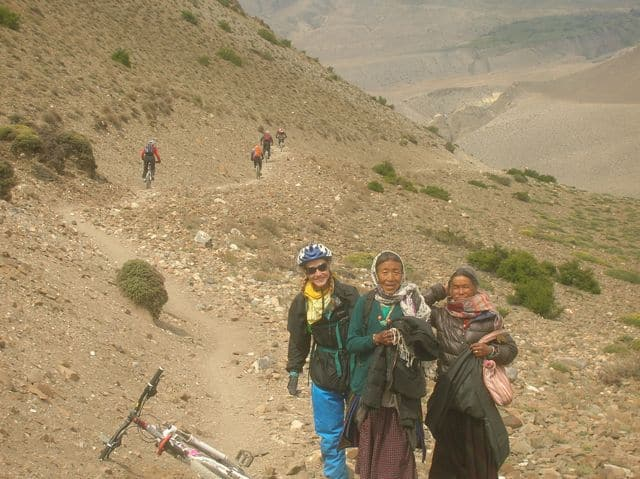 Mutinath to Jomsom Downhill