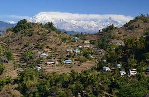 Village on Nagarkot trek