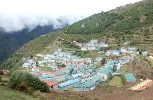 Namche-Bazaar-Everest-Trek