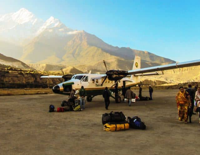 nepal-airplane