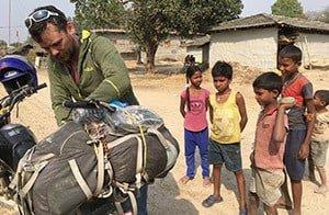 Nepal-Children-Village-Motorbike