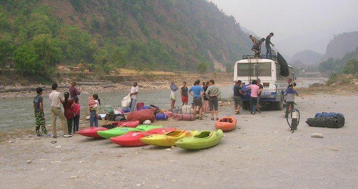 Rafting Trip Asia