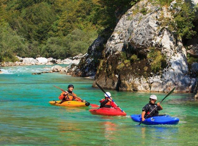 Kayaking Sun Kosi River Nepal