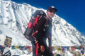 Guide in Nepali Himalaya