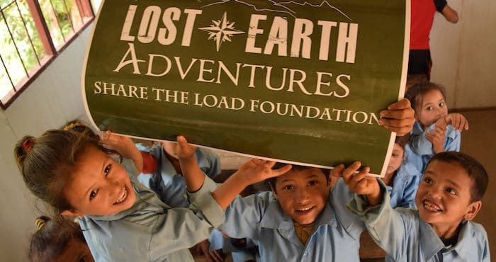 Children at New School Lost Earth Adventures