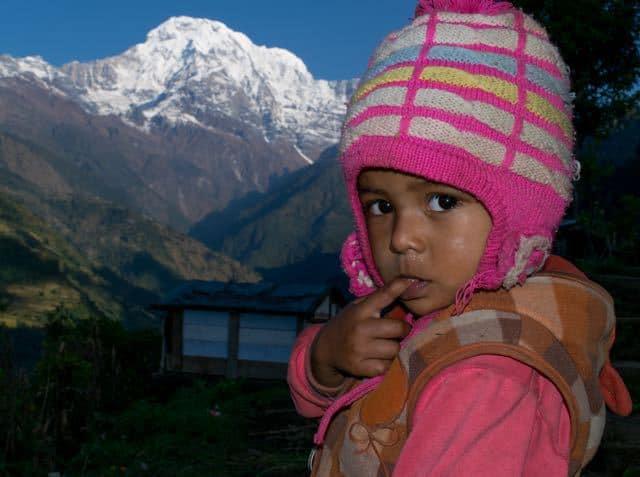 Nepali-Child-Annapurna-South