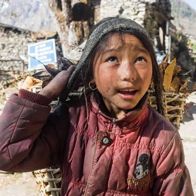 Nepali Mountain Girl