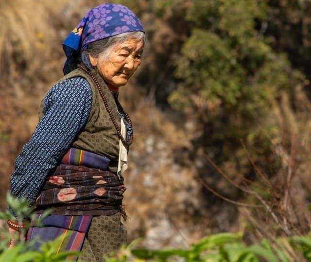 Nepali-Tamang-Lady-Langtang
