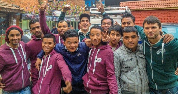 Nepali staff
