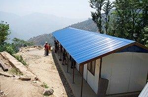 Newly Built School Nepal