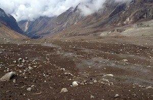 Langtang Valley devastation