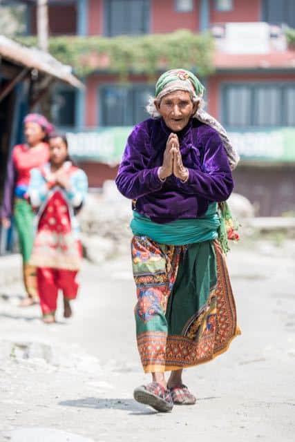 Old-Nepali-Lady