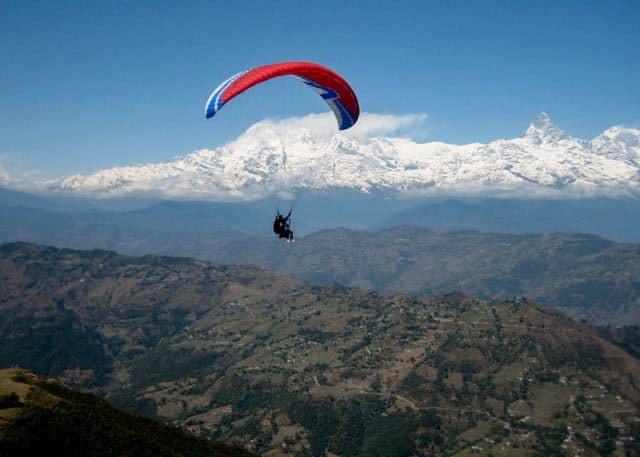 Paragliding-Pokhara-Nepal