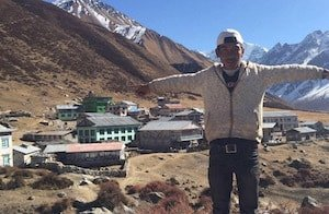 Langtang before earthquake