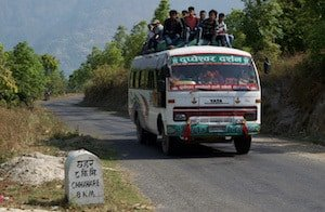 Nepali-Bus