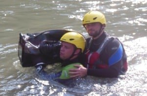 Providing White Water Safety Cover