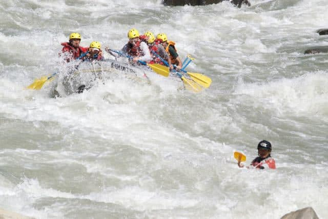 White Water Rafting Adventure Holiday