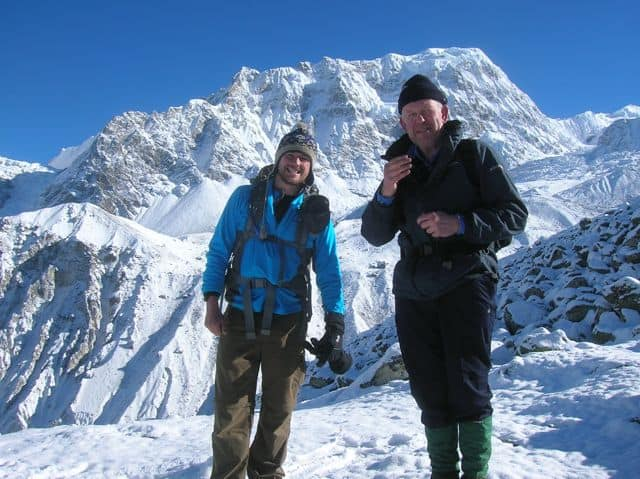 Richard_and_Iain_climbing_Tserko_Ri_in_April_2012_30