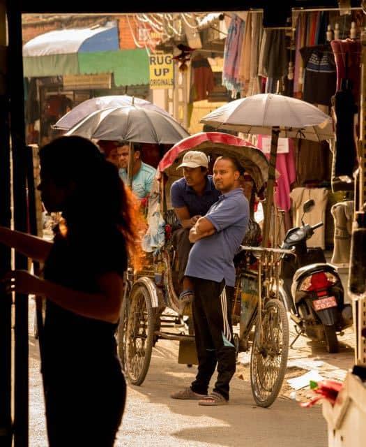 Rickshaw-journey-through-kathmandu