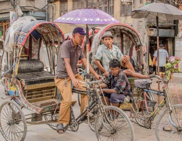 Rickshaws-in-kathmandu