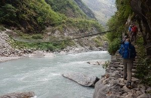 River-Canyon-Bridge-Trekkers-Annapurna-Circuit