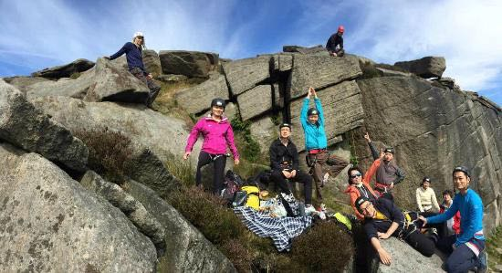 Rock-Climbing-Group-Derybyshire