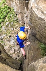 rock climbing weekend yorkshire