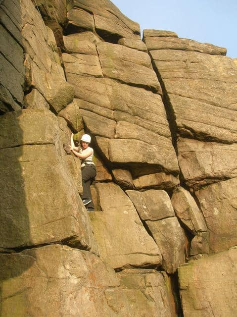 Rock-Climbing-Lesson Peak-District