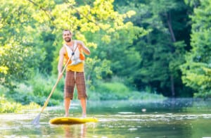 stand up paddle boarding Yorkshire