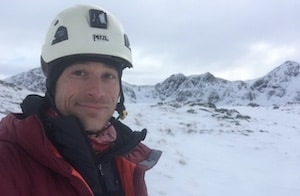 Mountaineering Instructor UK Sam Percival