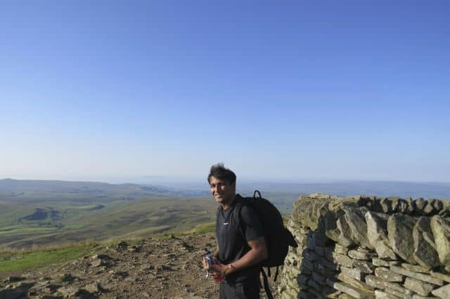 Sanjay_on_the_Summit_of_Whernside_16