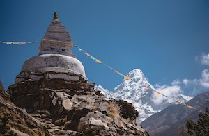 Everest Base Camp views on an acclimatisation day