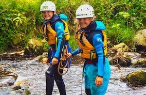 Children gorge walking