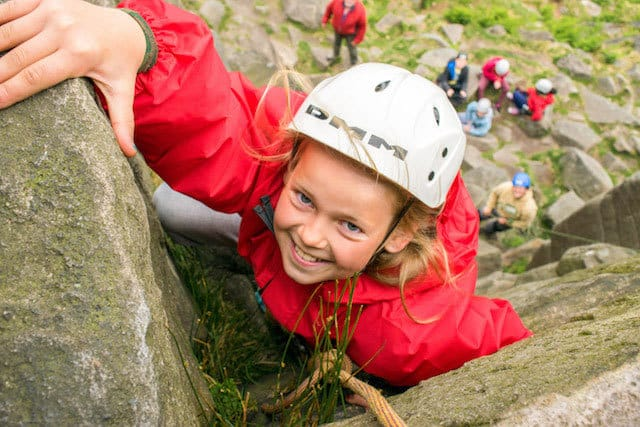 School-Girl-Rock-Climbing