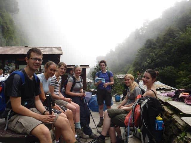 School-Group-Trekking-Nepal