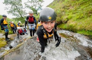 Gorge Walking in Peak District