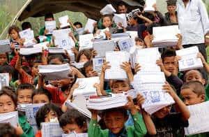 School kids Nepal