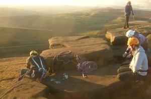 Rock Climbing instruction England