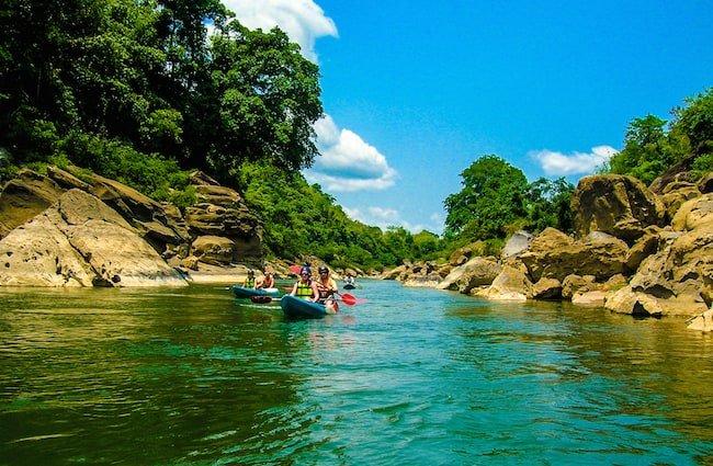 Kayaking Laos