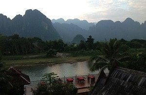 Sunset-in-Vang-Vieng
