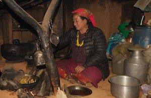 Nepalese-Tamang-Lady