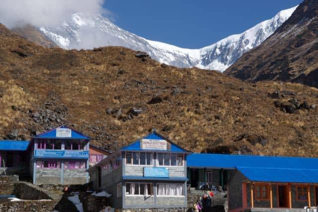 Tea-Houses-at-Machhapuchchhre-Base-Camp